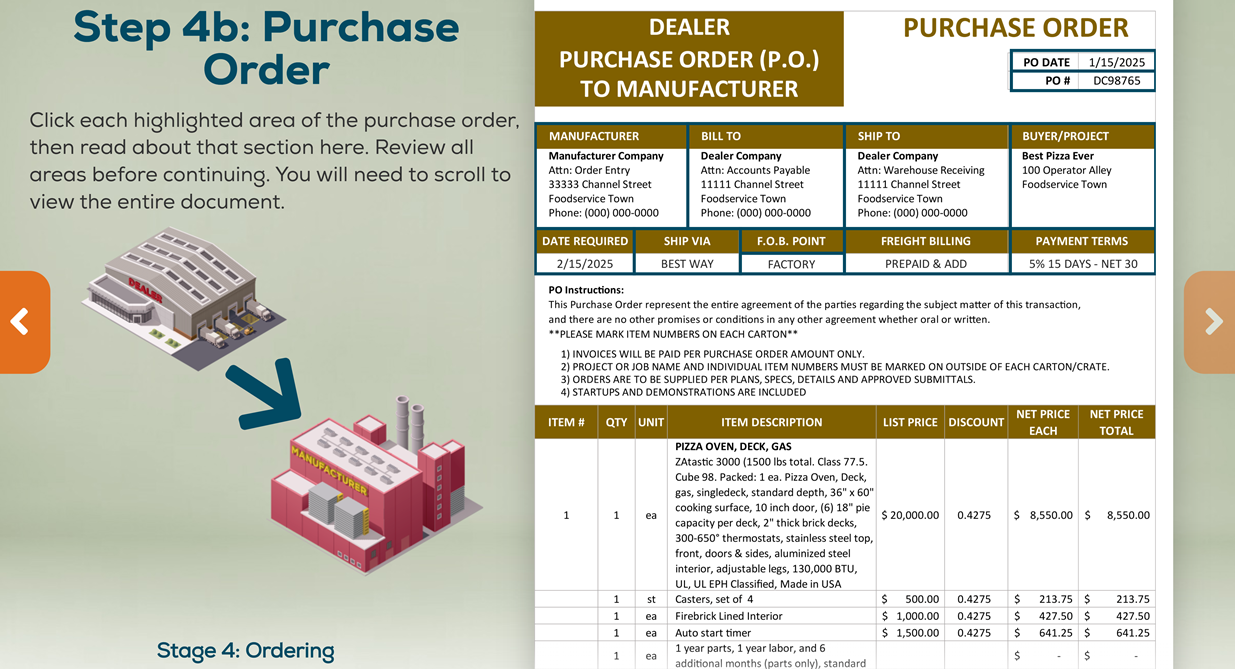 Chapter 4 - Purchase Order