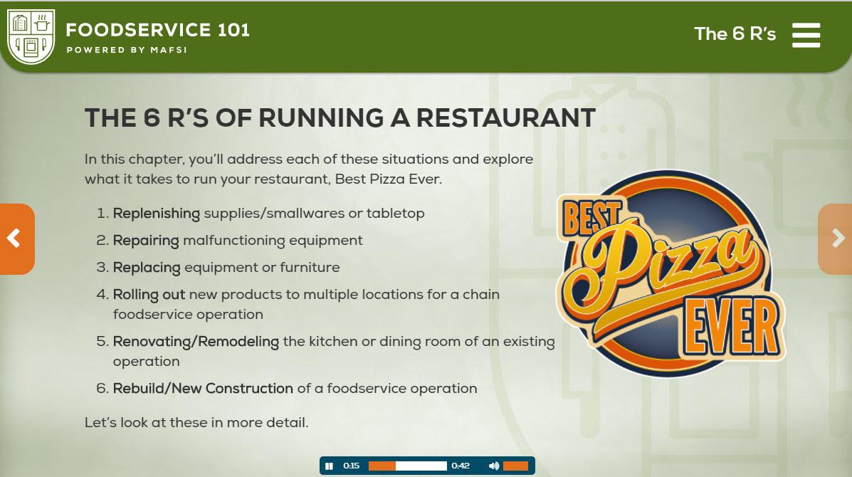 Chapter 5 - Running a Restaurant