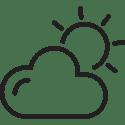 Sun Clouds Icon-01