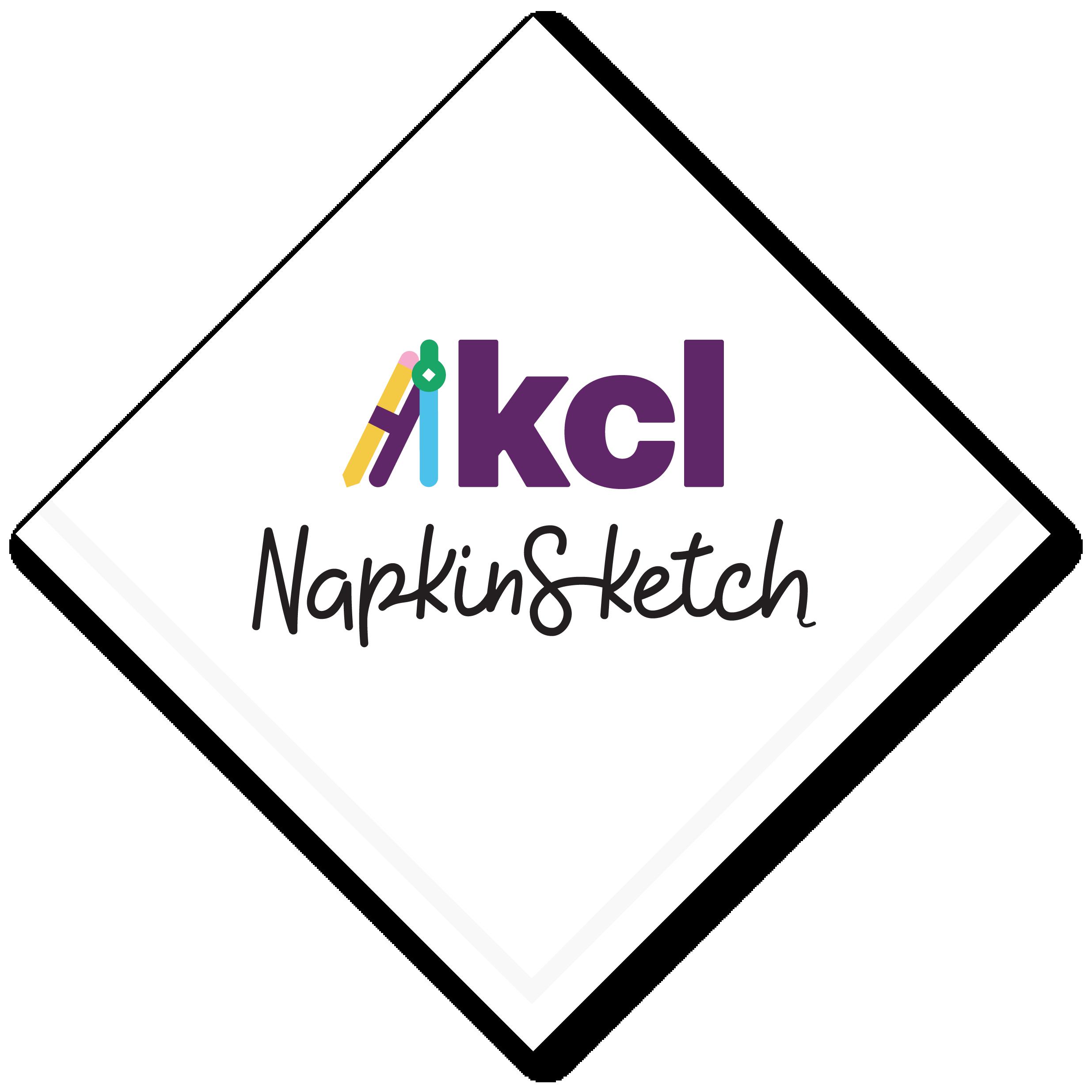 KCL NapkinSketch Logo