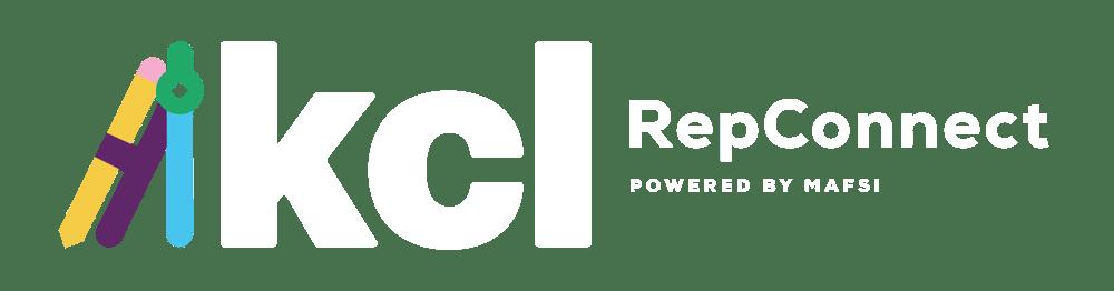 KCL RepConnect Logo White Hubspot