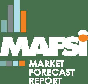Market Forecast White Lettering - Transparent i