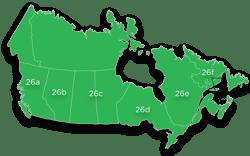Region 26 - All of Canada